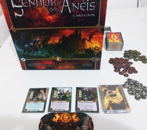 O Senhor dos Anis: The Card Game (Foto: Divulgao)