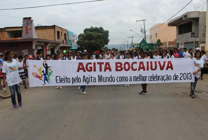 O programa Agita Bocaiuva ganhou reconhecimento como melhor projeto nacional. (Foto: Carlos Otávio de Oliveira )