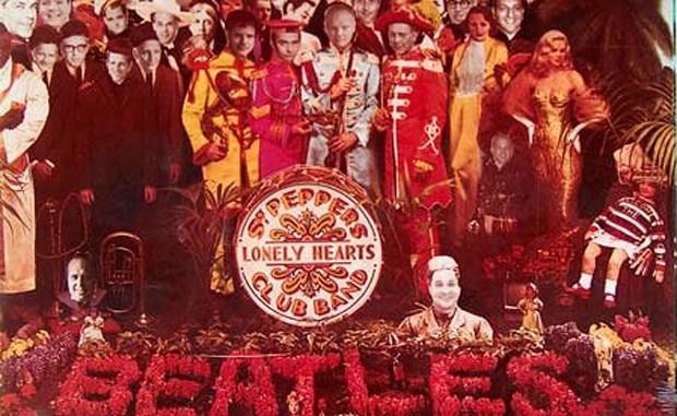 Executivos da Capitol substituem os Beatles em capa limitada - e valiosa - do álbum (Foto: Reprodução)