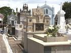 Cemitério espera receber 30 mil pessoas no feriado de Finados