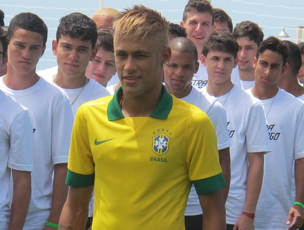 neymar camisa seleção brasileira (Foto: Felippe Costa)