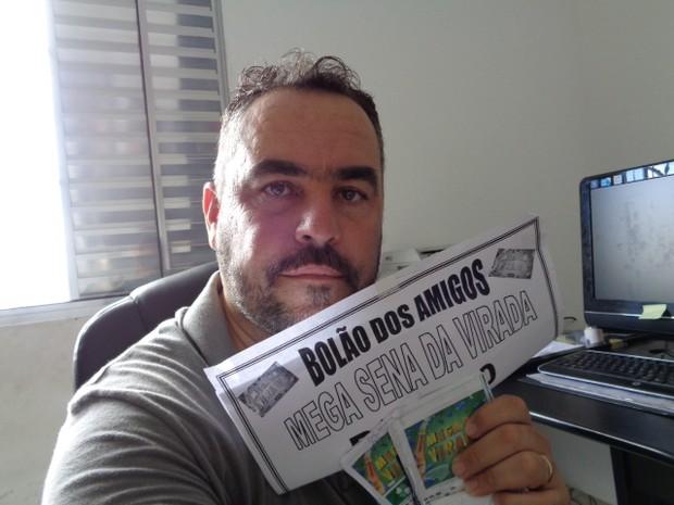 Corretor de imóveis apostou R$ 2,5 mil (Foto: RobertoJunior / Arquivo Pessoal)