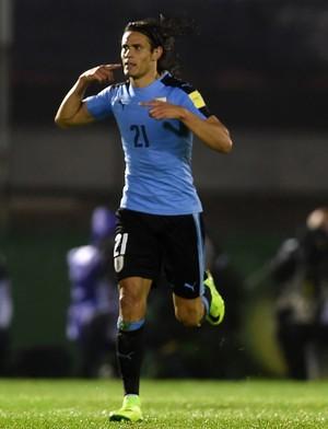 Cavani Uruguai x Paraguai (Foto: AFP)