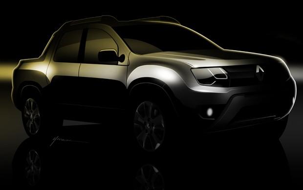 Renault mostra picape baseada no Duster (Foto: Divulgação)