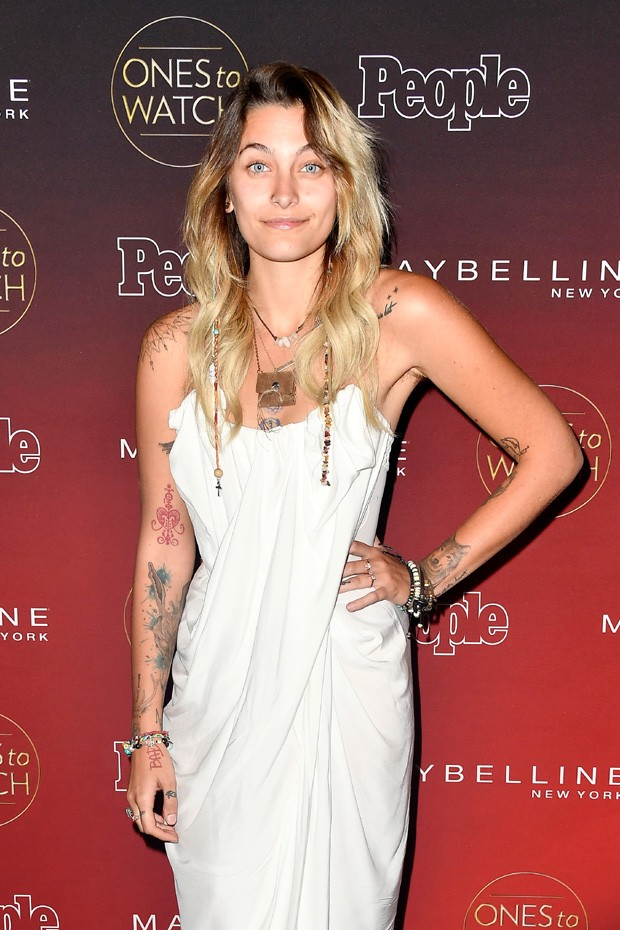 "LOS ANGELES, CA - OCTOBER 04:  Paris Jackson attends People's ""Ones To Watch"" at NeueHouse Hollywood on October 4, 2017 in Los Angeles, California.  (Photo by Frazer Harrison/Getty Images) (Foto: Getty Images)"