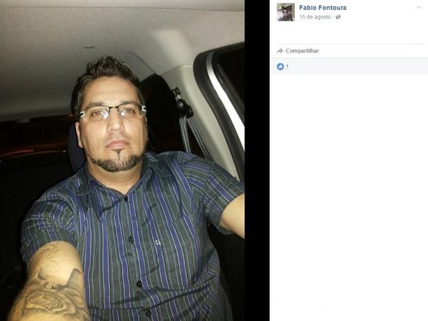Fábio Silva da Fontoura, motorista, Uber, morto, tiros, Canoas, bairro Igara (Foto: Reprodução/Facebook)