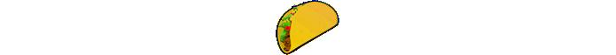 Emoji de taco (Foto: Divulgação/Consórcio Unicode)