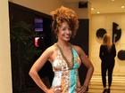 Aline Prado, do 'Vídeo show', e mais famosos vão a evento no Rio