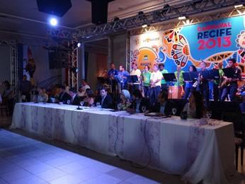 Recife anuncia programação oficial do carnaval 2013 (Foto: Lorena Aquino / G1)