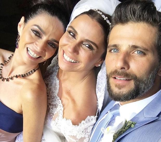 Claudia Ohana, Giovanna Antonelli e Bruno Gagliasso (Foto: Reprodução/Instagram)