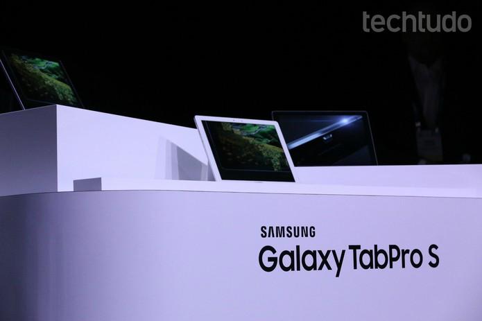 Samsung CES 2016 TabProS (Foto: Marlon Câmara/TechTudo)