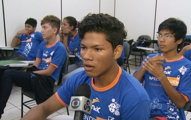 """Atualmente, o programa """"Jovem Aprendiz"""" vem trazendo muitas oportunidades de emprego para os roraimenses (Foto: Roraima TV)"""