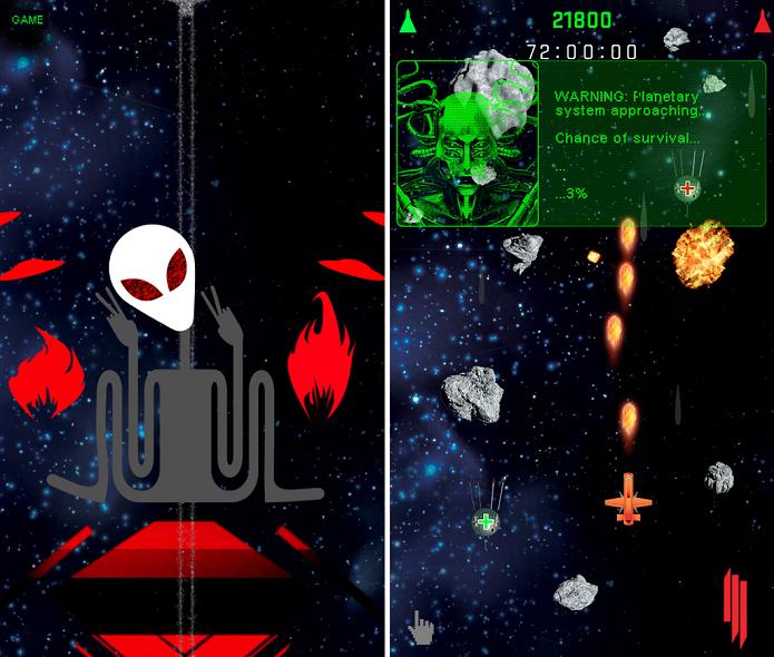 Game Alien Ride vem com CD completo do Skrillex escondido (Foto: Divulgação/Motim Techonologies)