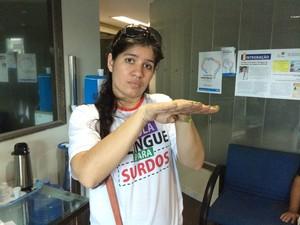 MPF pede adiamento de prova do Ifro, após reclamação de surdos (Foto: Ana Fabre/G1)