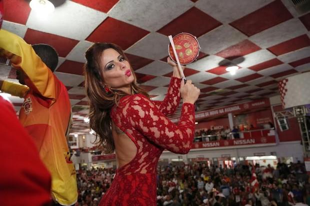 Viviane Araújo no Salgueiro (Foto: Claudio Andrade/PhotoRioNews)