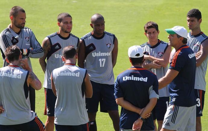 renato gaucho time treino Fluminense (Foto: Fernando Cazaes/Photocamera)