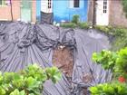 Temporal provoca mais de cem deslizamentos em Recife