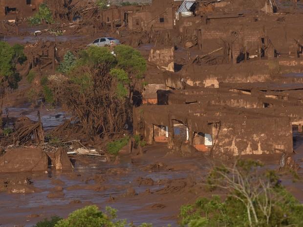 Resíduos de mineração vão alterar pH do solo (Foto: AFP PHOTO / Douglas MAGNO)