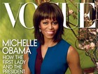 Michelle Obama sai na capa da revista &#39;Vogue&#39; pela segunda vez