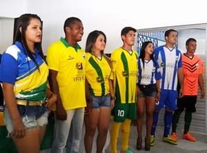 ipojuca uniformes (Foto: Divulgação / Ipojuca)