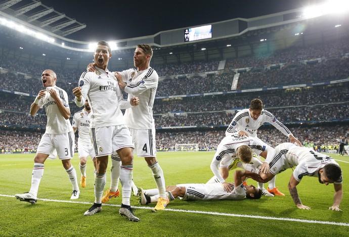 Cristiano Ronaldo Real Madrid x Atlético de Madrid (Foto: Reuters)