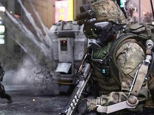 Soldados de 'Advanced Warfare' usam exoesqueletos e têm habilidades sobre-humanas (Foto: Divulgação/Activision)