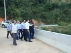 Governador do estado visita obras de pontes em Sumidouro e Petrópolis
