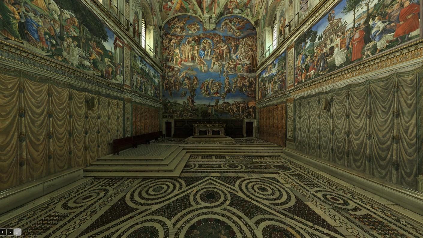 Faça um passeio virtual pela Capela Sistina (Foto: Site do Vaticano)