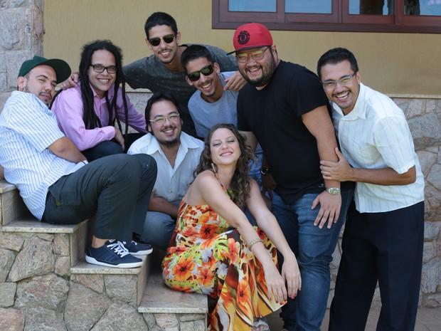 Grupo lança seu primeiro disco com apresentação no Brasuca, em Campinas (SP)  (Foto: Adriano Rosa)