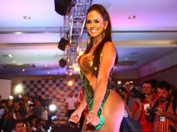 Dai Macedo vence o Miss Bumbum 2013 em São Paulo (Foto: Iwi Onodera/ EGO)
