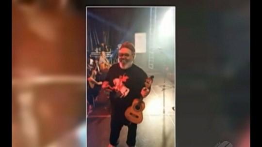 Estado de saúde do cantor Jorge Aragão é estável após passar por angioplastia