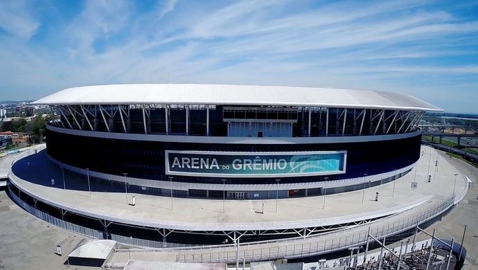 Arena Grêmio  (Foto: Drone Service Brasil)