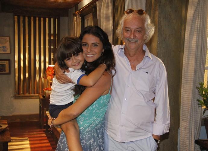 Mario contracenou ao lado de Giovanna Antonelli e Klara Castanho em 'Viver a Vida', em 2009. (Foto: Renato Rocha Miranda/TV Globo)