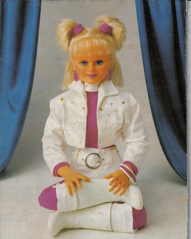 Boneca da Xuxa: medo (Foto: Reprodução)
