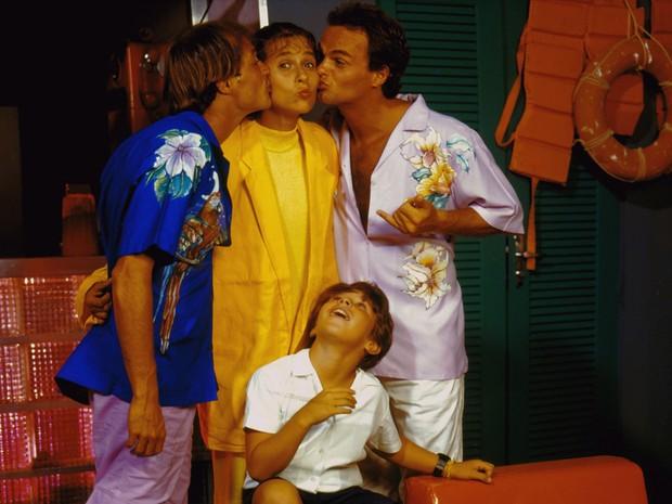 Lula (Andre De Biasi), Zelda Scott (Andréa Beltrão), Juba (Kadu Moliterno) e Bacana (Jonas Torres)