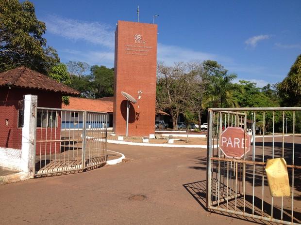 Unir campus na BR-364, em Porto Velho (Foto: Gaia Quiquiô/G1)