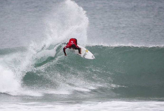 Keanu Asing etapa frança mundial de surfe (Foto: Divulgação/WSL)