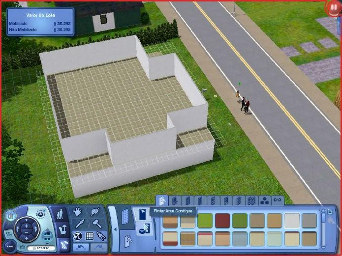 The Sims 3 No Futuro: Crie belas varandas (Foto: Reprodução/Lílian Moreira)