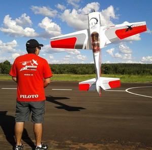 Aeromodelismo em Uberlândia (Foto: Divulgação/Aeroclube Caça e Pesca)