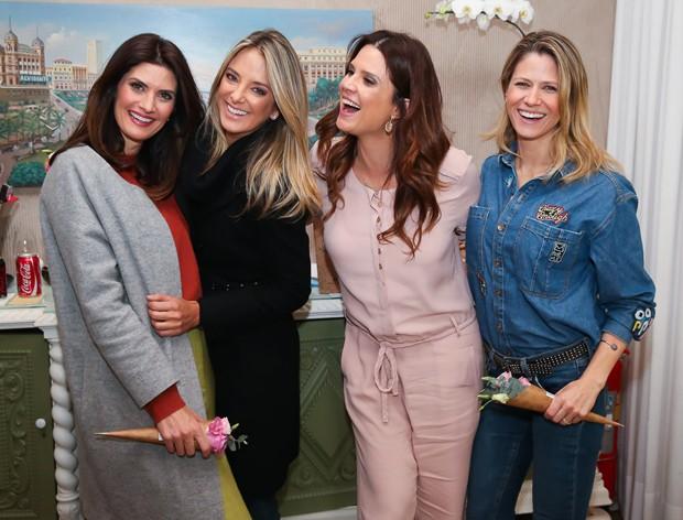 Isabella Fiorentino, Ticiane Pinheiro, Mariana Kupfer e Didi Wagner (Foto: Manuela Scarpa/Brazil News)
