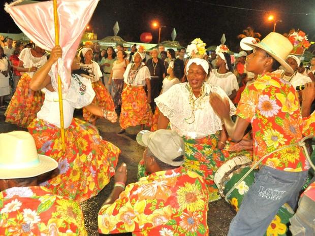 Grupos de tambor de crioula se apresentam em São Luís nesta sexta-feira (6), pelos 401 anos da cidade (Foto: Divulgação/Secom)