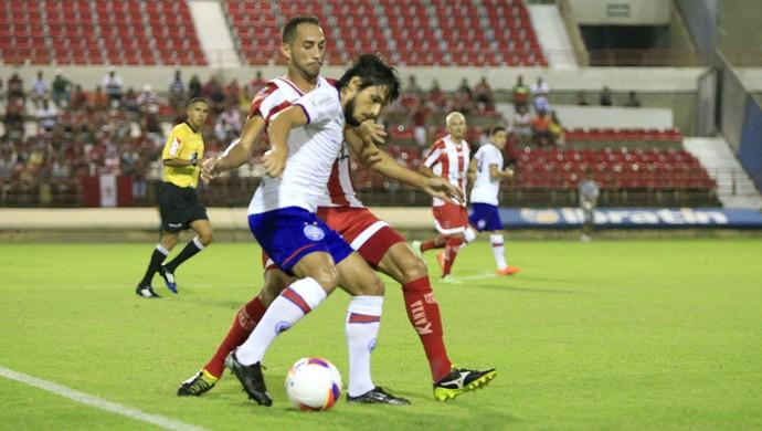 CRB x Bahia Fernando  (Foto: Ailton Cruz/Gazeta de Alagoas)