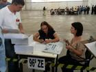 Votação foi dentro da normalidade em SC (Kleber Pizzamiglio/ RBS TV)