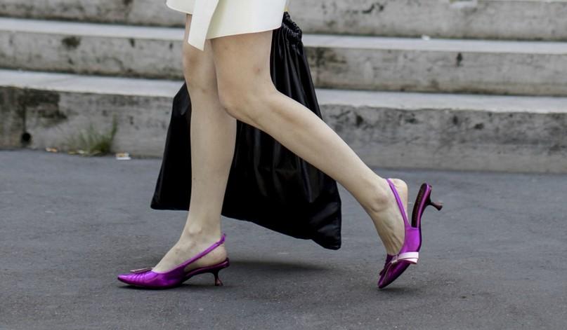 """Sapato da """"vovó"""" (Foto: Imaxtree)"""