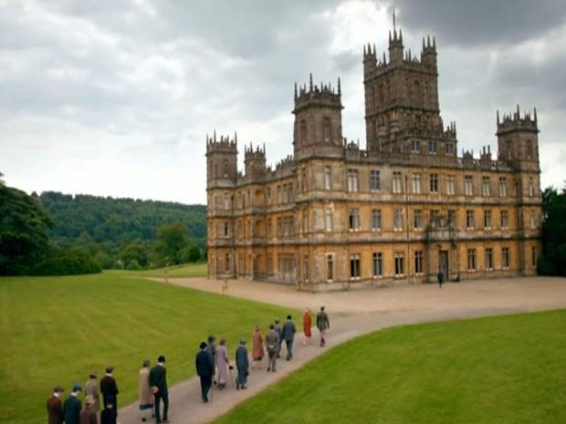 Imagem da série 'Downton Abbey (Foto: BBC)