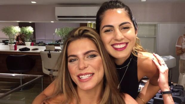 Mariana Goldfarb e Daniela Vaz (Foto: Cristiane Rodrigues /  Ego)