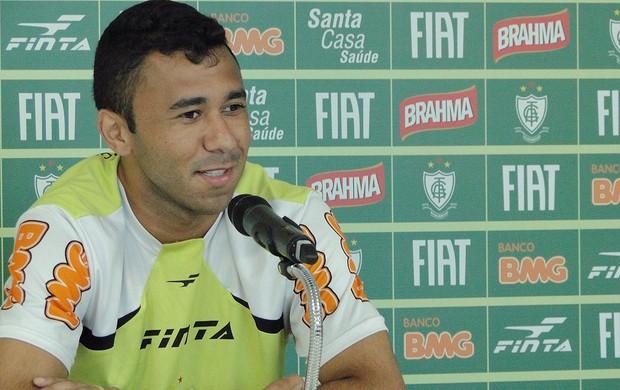 Luciano, do América-MG (Foto: Ana Paula Moreira / Globoesporte.com)