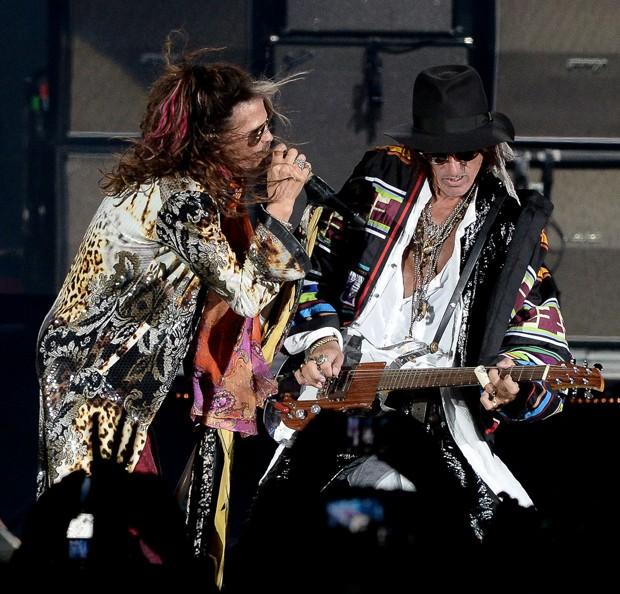 Aerosmith (Foto: Francisco Cepeda/AgNews)
