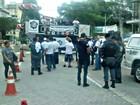 Manifestação lembra mortes de policiais em Manaus