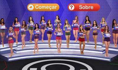 Brinque e divirta-se com o game exclusivo do Tem Gente Atrás! (Domingão do Faustão / TV Globo)